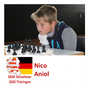 Nico Aniol DEM Teilnehmer 2020