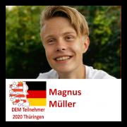 Magnus Müller DEM Teilnehmer 2020